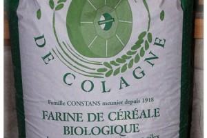 Sac pour professionnels farine Bio