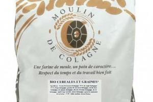 Sac 5kg farine Moulin de Colagne